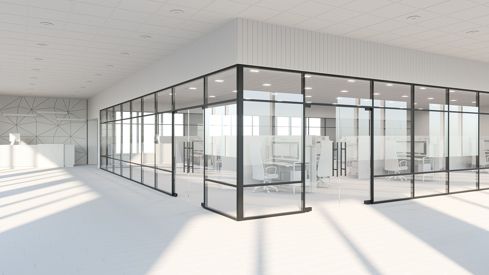 Bring Life To Your Home Using Glass Partitions.
